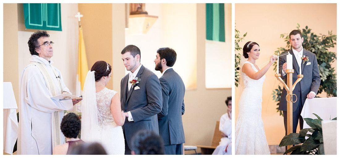 A J Wedding Ceremony