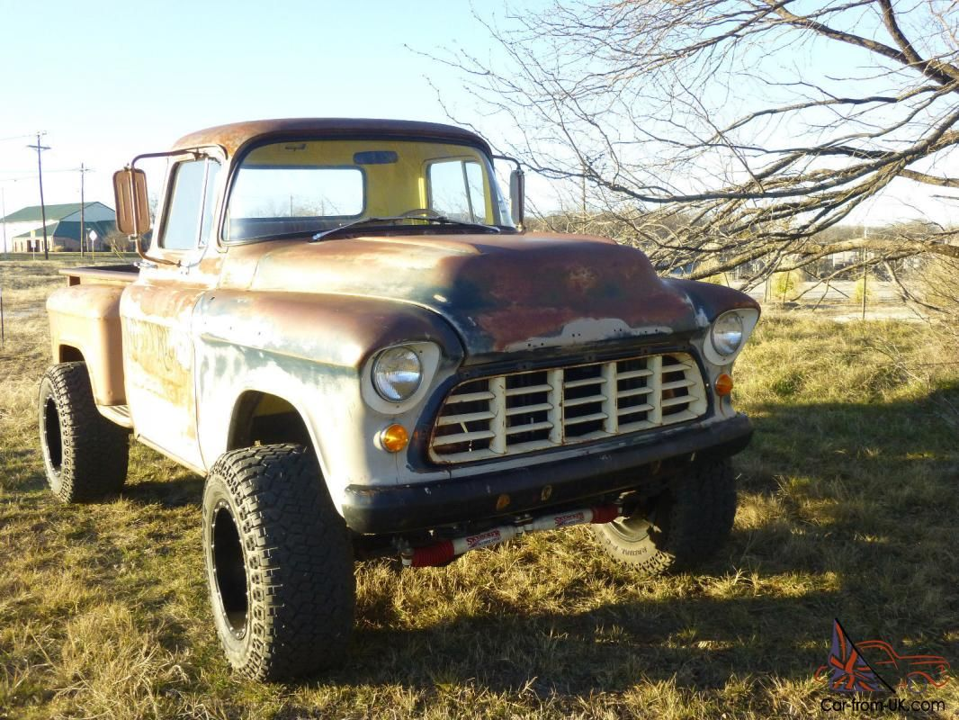 55 chevy truck frame swap 55 chevy truck frame swap car pictures - 1955 Chevrolet Mounted Atop A 1971 3 4 Ton Frame Cut Down 13 5 Inches This Truck Has A 4 Suspension Lift With All New Skyjacker Shocks