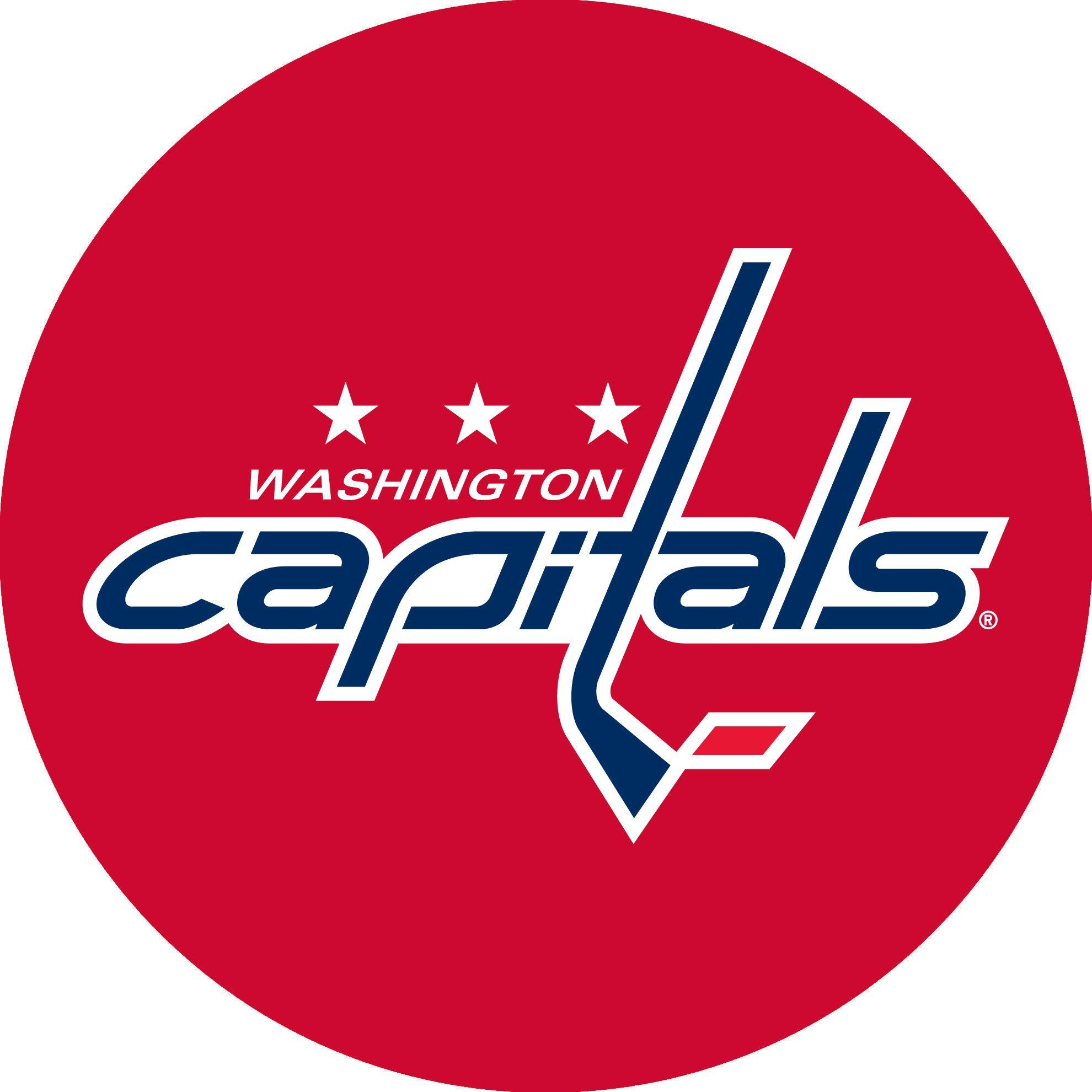 Kick Them Back Inc Washington Capitals Hockey Hockey Logos Capitals Hockey
