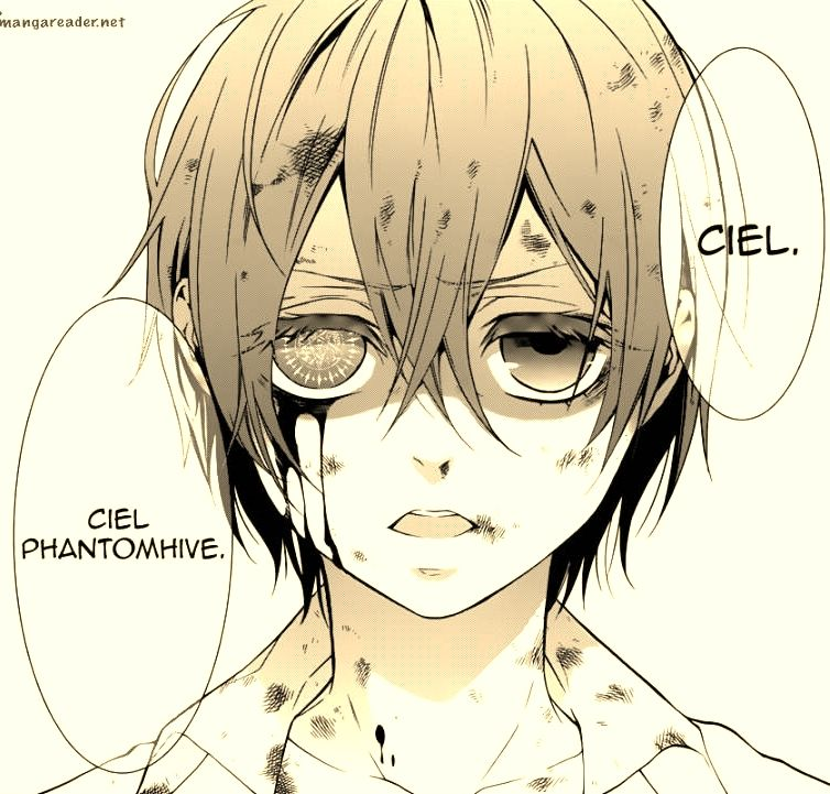 I am...Ciel Phantomhive.