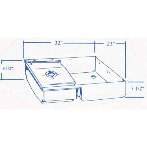 Transvan Rv Shower Pan Toilet Mount Tank Combo Fiberglass 220 Transvan Shower Pan Fiberglass Shower Fiberglass Shower Pan