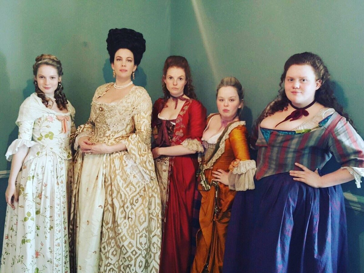 Pin By Meagan Hedden On Harlots Behind The Scenes Costume Collection Costume Drama Historical Costume