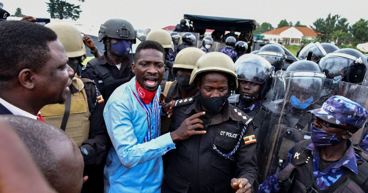 In Pictures Deadly Uganda Protests Over Bobi Wine S Arrest In 2020 Uganda The Clash Bobi