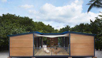La Maison au Bord de l'Eau, a low-cost beach house | Charlotte Perriand