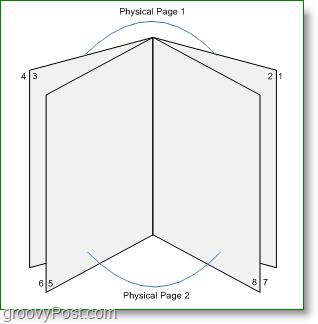 print booklet in word