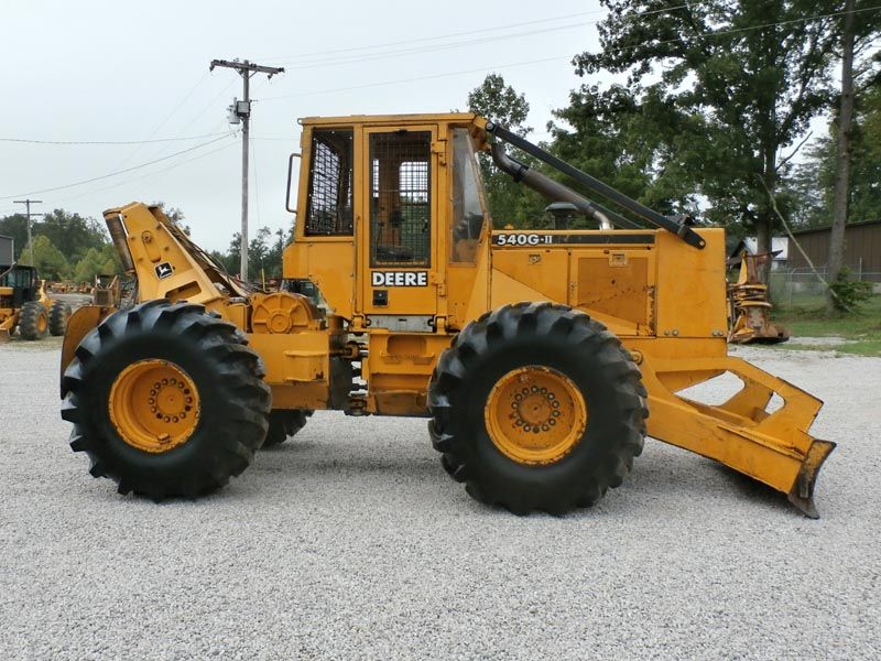 Used John Deere 540g Ii Cable Skidder For Sale Pic05