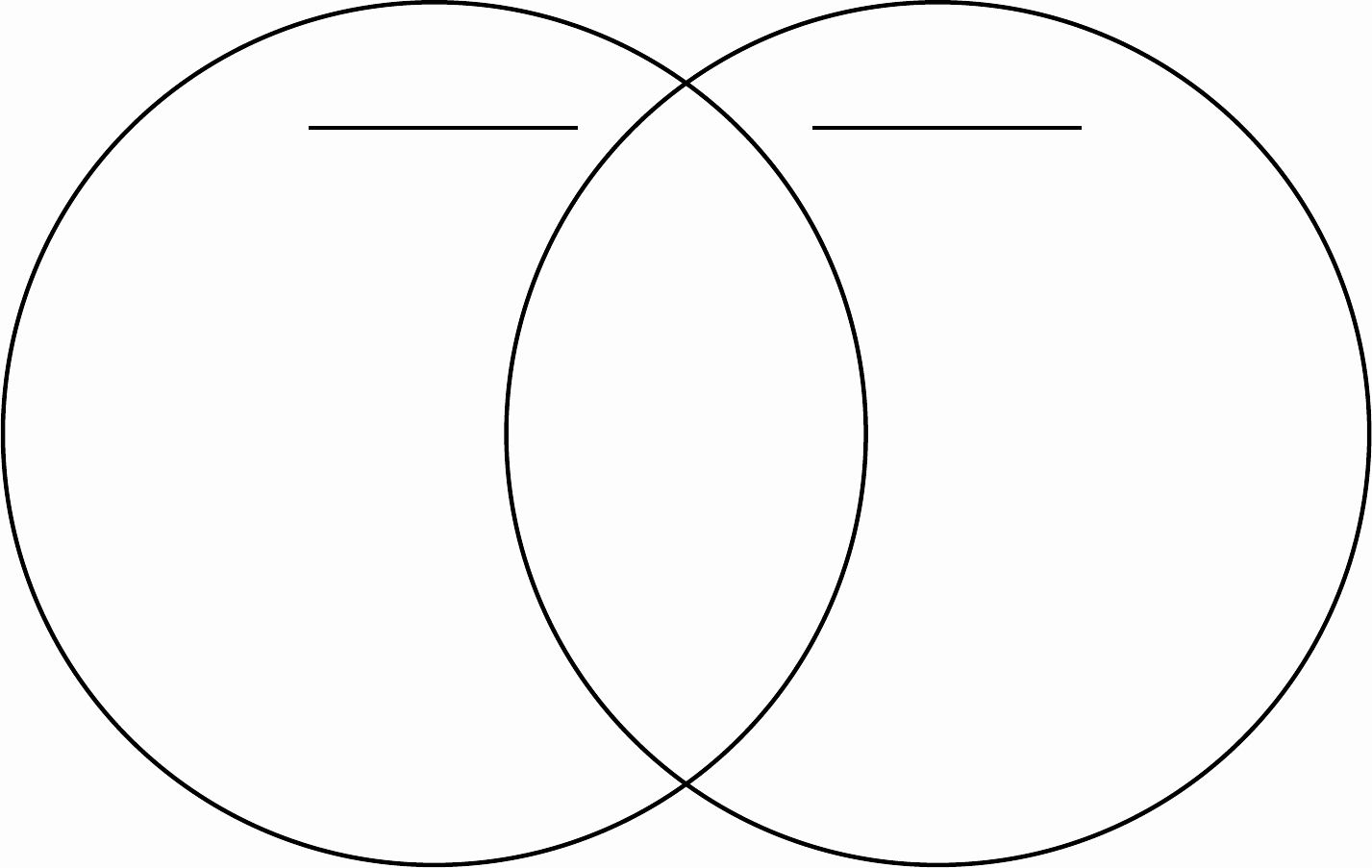 Venn Diagram Template Doc Unique Venn Diagram In Word And