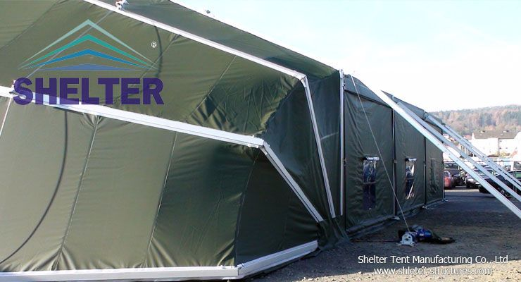 Army tent & Military tents are available in a variety of different sizes and ...
