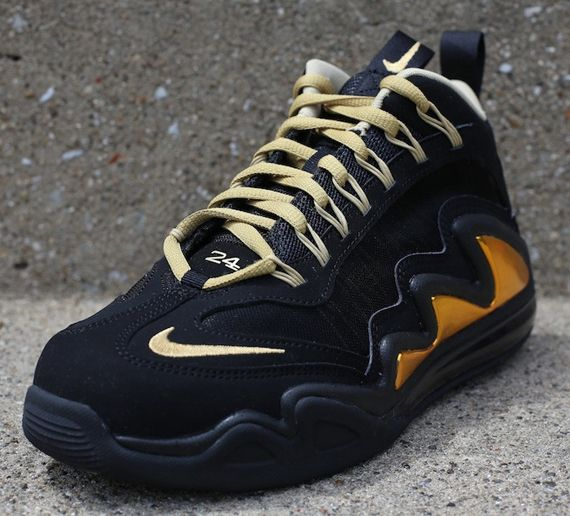 Nike Air Max 360 Diamond Griff - Black - Metallic Gold - SneakerNews ... d9bb0bbf9