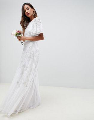 778d1bb1 EDITION floral applique wedding dress | Clothes & Accessories 3 ...