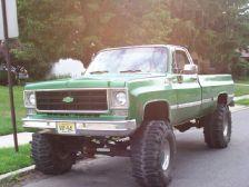 Chevy 76 Truck 1976 Chevrolet K20 Pickup Slimer40 S 1976 K20