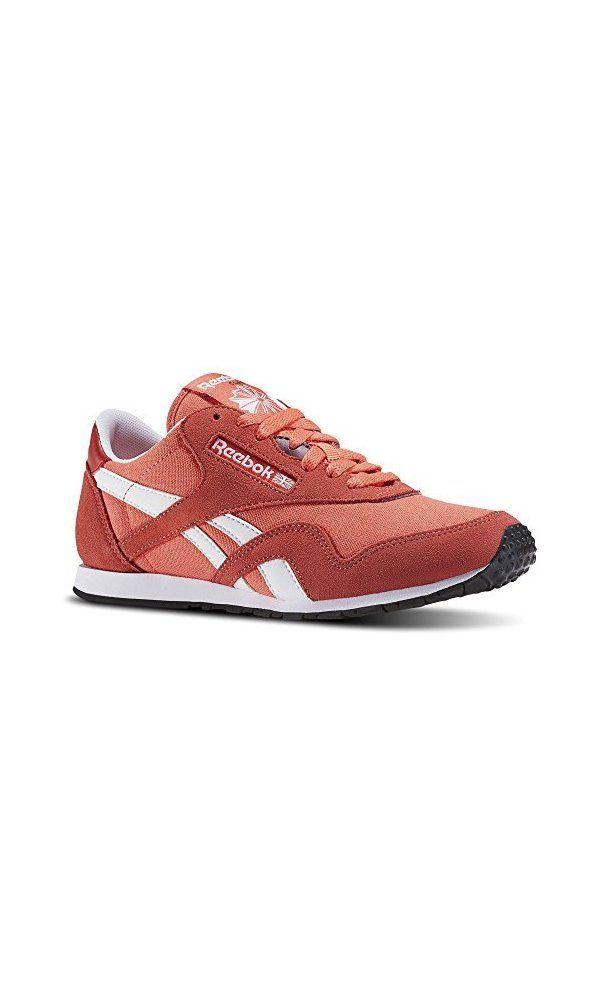 b0cb50df 59.19$ - Reebok Women\\\'s Classic Nylon Slim HV Running Shoe, Fire ...