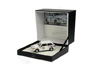 Ex Mag 1:43 Fiat Panda Diecast Model Car - CS20SP This Fiat Panda 4S (Carlos Sainz - Criterium Luis de Baviere 1981) Diecast Model Car is White and features working wheels. It is made by Ex Mag and is 1:43 scale (approx. 8cm / 3.1in long). Comes in special, flip-top box. #ExMag #ModelCar #Fiat