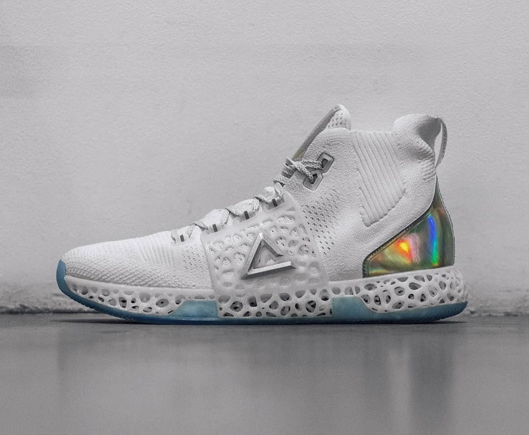 95a47c8ad peak sport 3D printed basketball sneakers