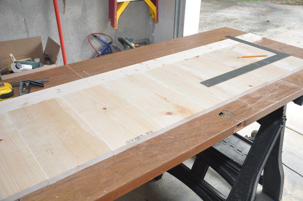 DIY Farmhouse Bed Queen Version Diy bed frame, Home