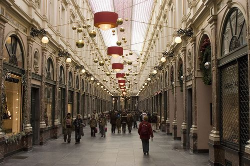 Brussel St Hubertus Galerijen Galeries Royales Saint Hubert Saint Hubert Brussels Belgium Wonders Of The World