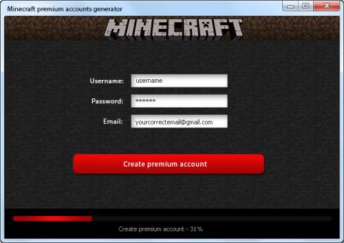 free minecraft premium account generator download   Cracksage ...