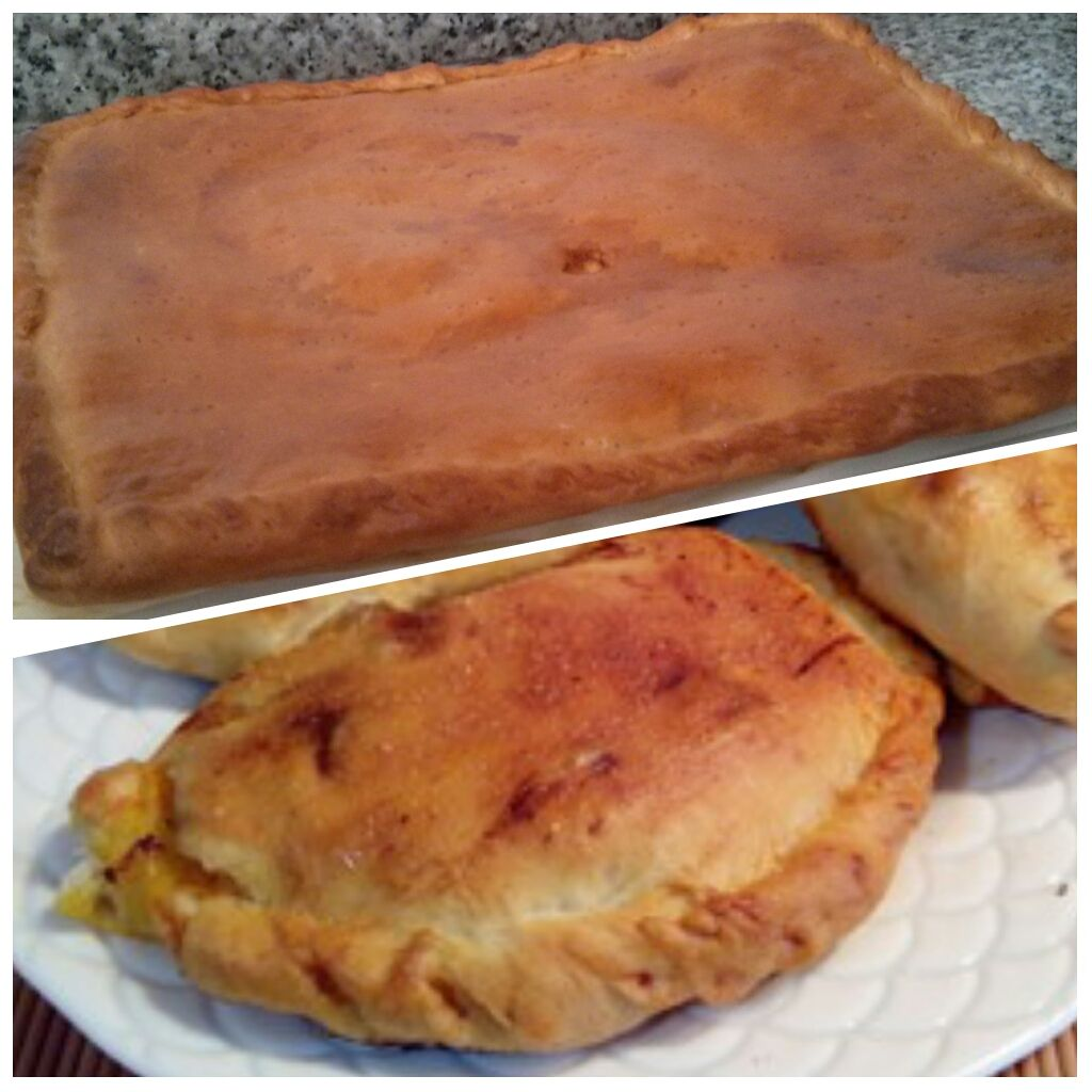 Empanada y empanadillas gallegas #masas #empanada #empanadillas