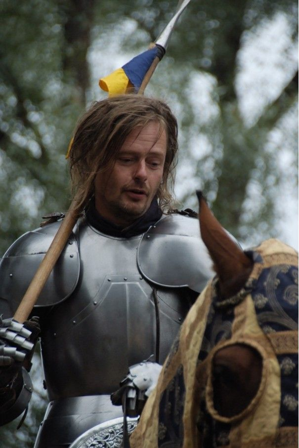 Hämeen keskiaikamarkkinat - Häme Medieval Faire 2008, Ritari - Knight, © Timo Martola
