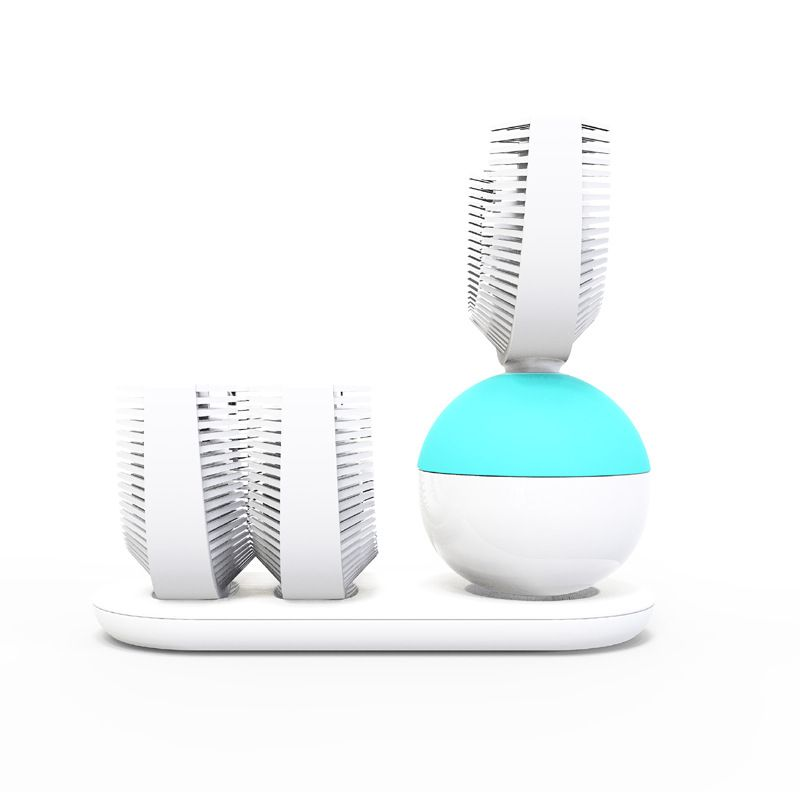 360 Automatic Electric Sonic Toothbrush Quickly Brush In 10s Usb
