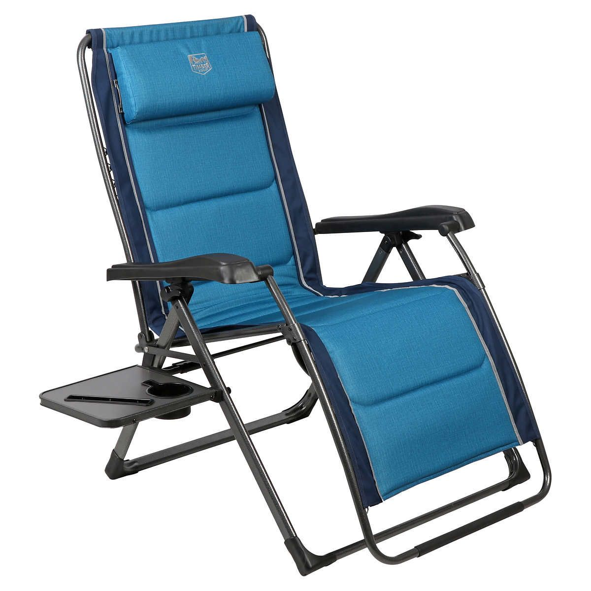 Timber Ridge Zero Gravity Lounger In 2020 Outdoor Chairs Zero Gravity Chair Zero Gravity Recliner