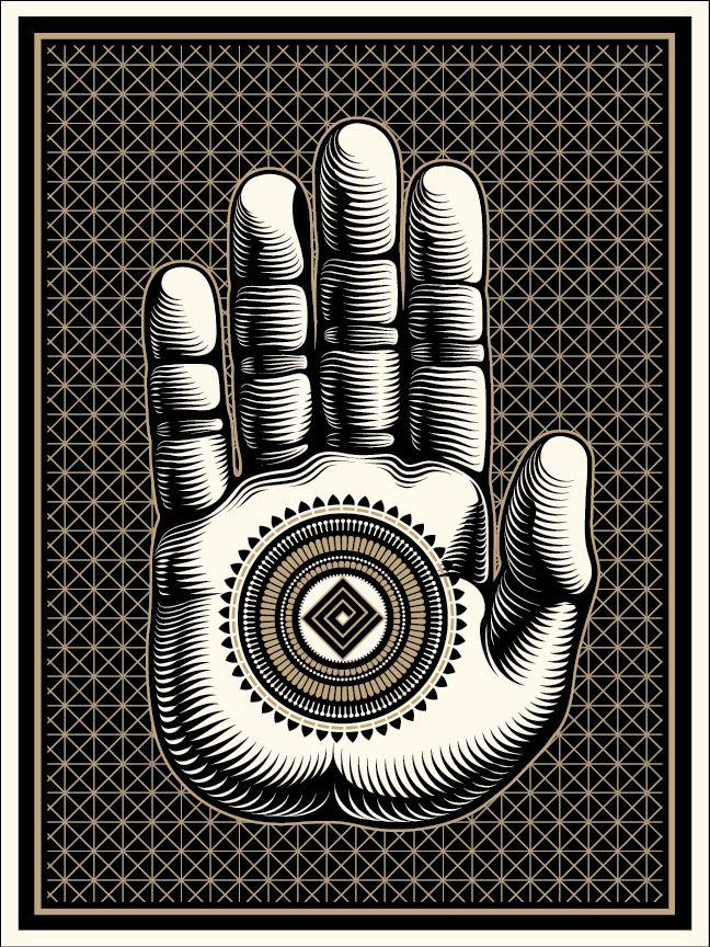 Cryptik Gallery Prints Design Pinterest Buddha Palm Art