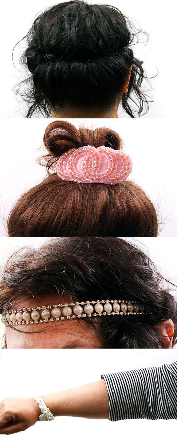 Top 3 new ways to wear headbands- filled with tons of cute ways to wear headbands for short or long hair, and unique ways to wear a headband with an updo!
