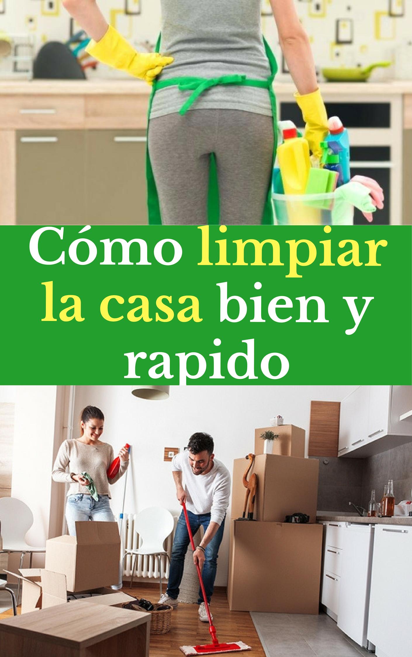 Como Limpiar La Casa Bien Y Rapido Como Limpiar La Casa Limpiar