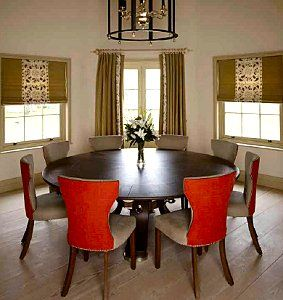 Rupert bevans superb round dining table fabulous furniture you can easily see everyone around the table without having to bend over rupert bevans superb round dining table workwithnaturefo