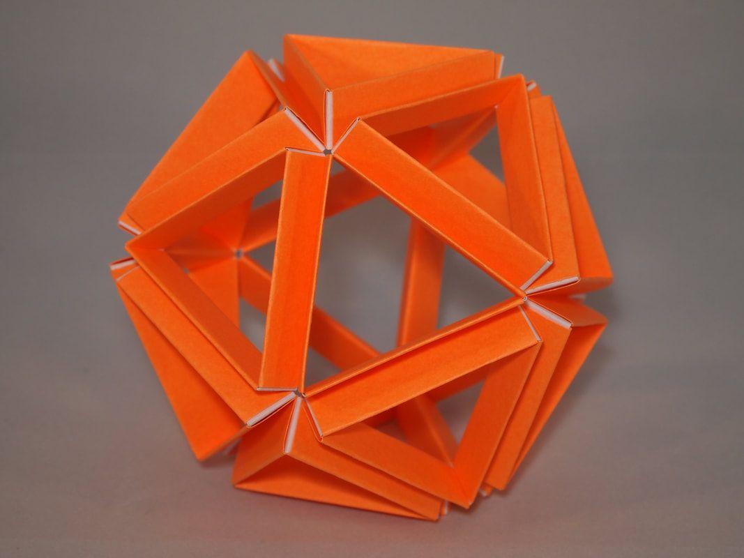 Variations On An Icosahedron Polyhedron Modular Origami Octahedron