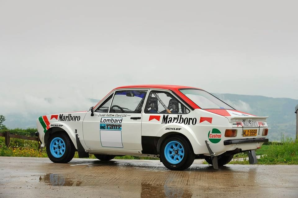 Ford Escort Rally MK2, Ari Vatanen\'s Marlboro sponsored Escort ...