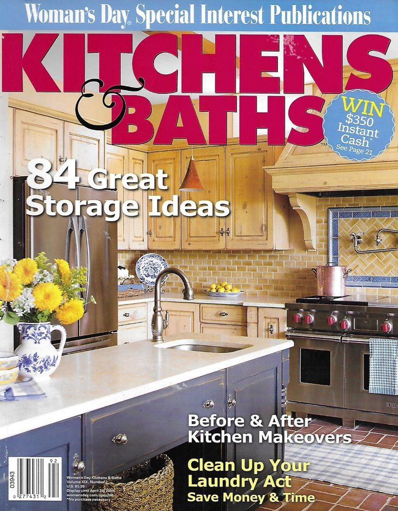 Kitchen And Baths Magazine Storage Ideas Before And After ...