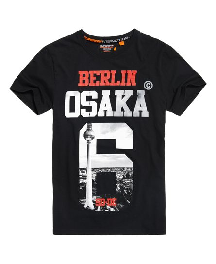 new product 63aac 74bdc Superdry Camiseta de edición limitada Osaka Berlin | moda ...
