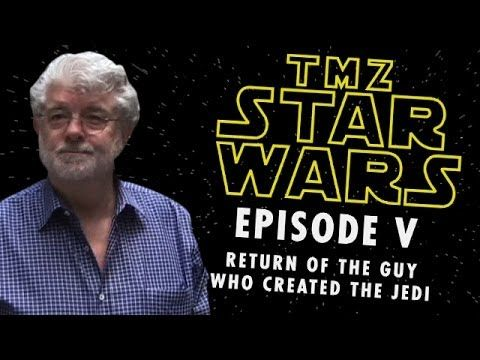 We talked to George Lucas about the leaked photos from the new Star Wars...