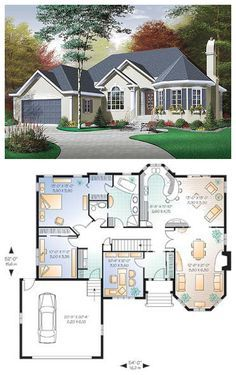Victorian Cottage Plan 3313 Victorian House Plans Cottage Plan House Plans