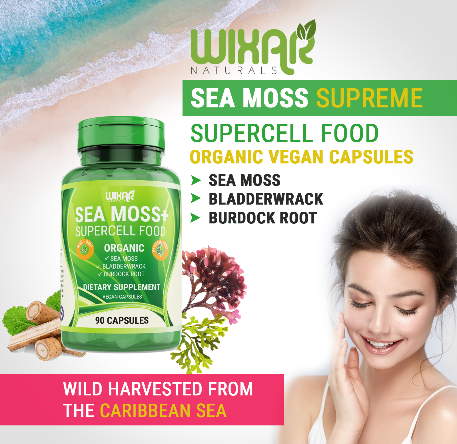 This Study Will Perfect Your Dr Sebi Sea Moss Read Or Miss Out Sea Moss Moss Irish Sea