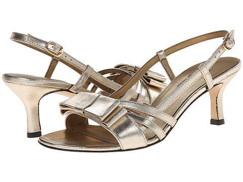 Womens Sandals Vaneli Martey Platino Met Nappa/Gold Buckle
