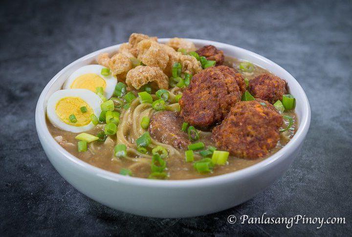 Corned Beef Lomi Batangas Style - Panlasang Pinoy | Recipe ...