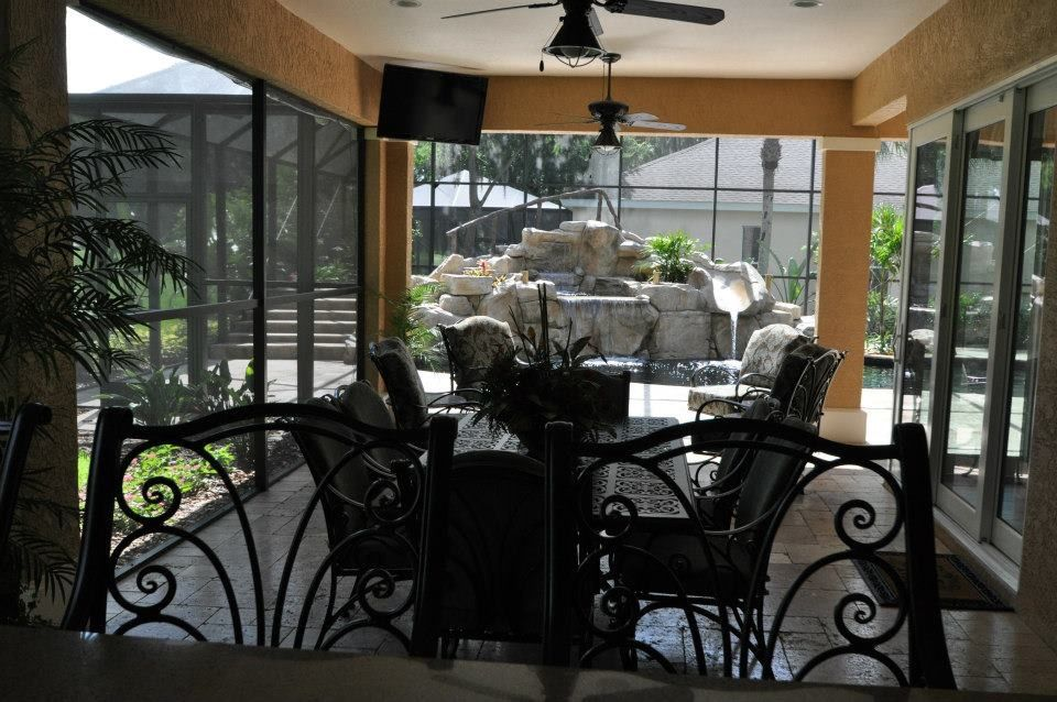 Outdoor Kitchen Tampa Bay Florida Wood Tile Floors Bathroom Addition Kitchen Pictures