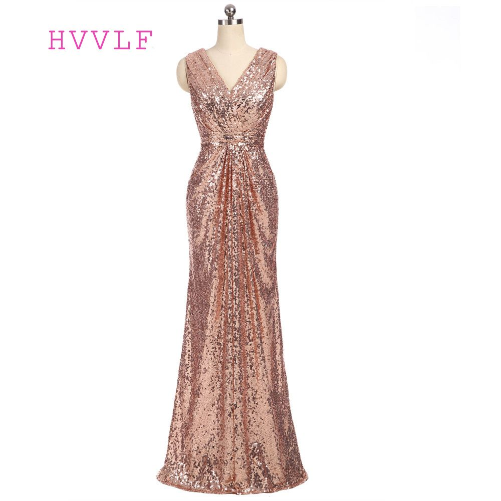 Champagne 2017 cheap bridesmaid dresses under 50 a line v neck floor champagne 2017 cheap bridesmaid dresses under 50 a line v neck floor length sequins ombrellifo Gallery
