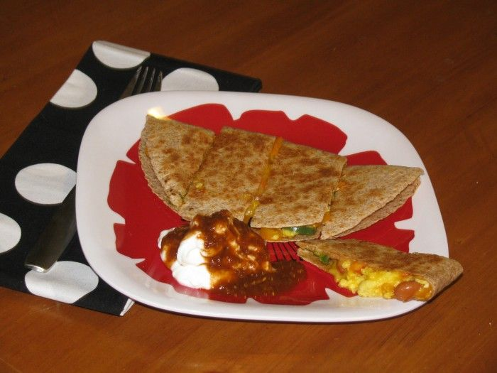 METABOLISM INCREASING Breakfast Quesadilla, Super yummy and low calorie too :)