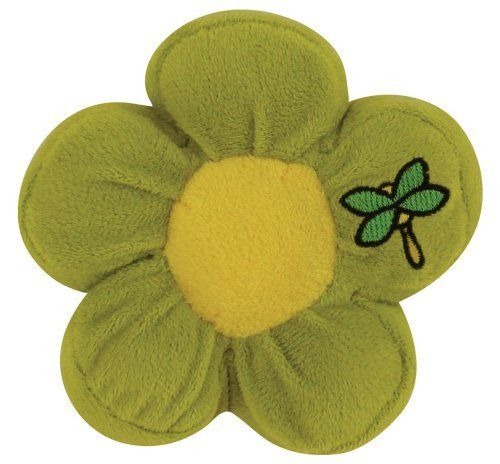 Dogit Style Flower Toy - Dragon Fly by Hagen. $8.73. Stuffed with a squeaker that helps promote play. Variety of colors available. Flower shaped toy with squeaker. Made from soft plush fabric and colorful accents. Green flower with dragon fly image. The Dogit Style Flower Toy is a great toy for smaller dogs and puppies. The Flower Toy is made from soft plush fabric and comes with a built-in squeaker. The inner-squeaker is great for heightening the play experience and fo...