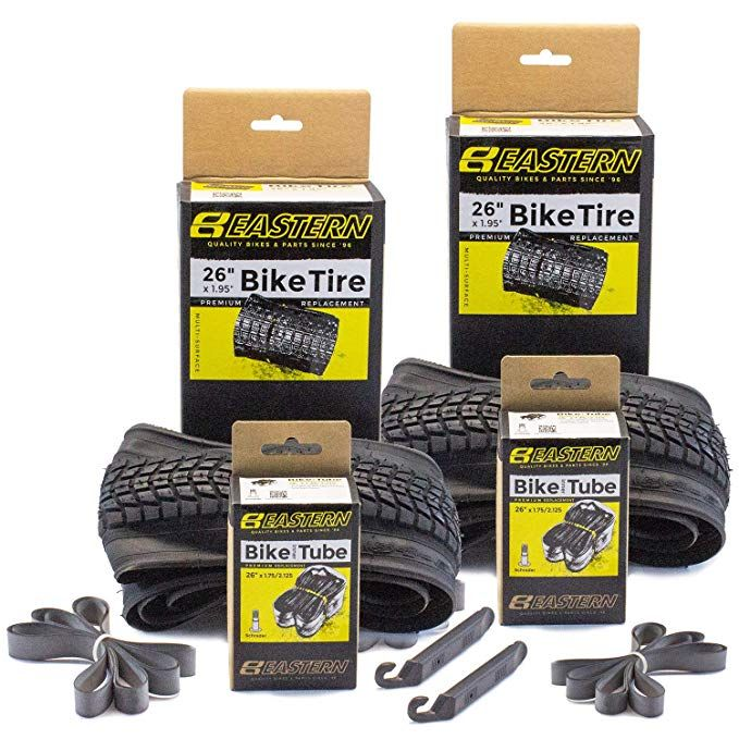 Eastern Bikes Premium Upgrade 26 X 1 95 Inch Tire And Tube Repair