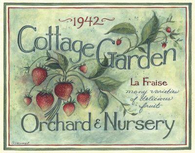 Cottage Garden I by Susan Winget