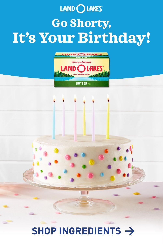 Birthday Cake Recipes Recipes | Land O'Lakes