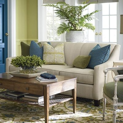 Bassett 2044 62 Corinna Sofa Available At Hickory Park Furniture Galleries
