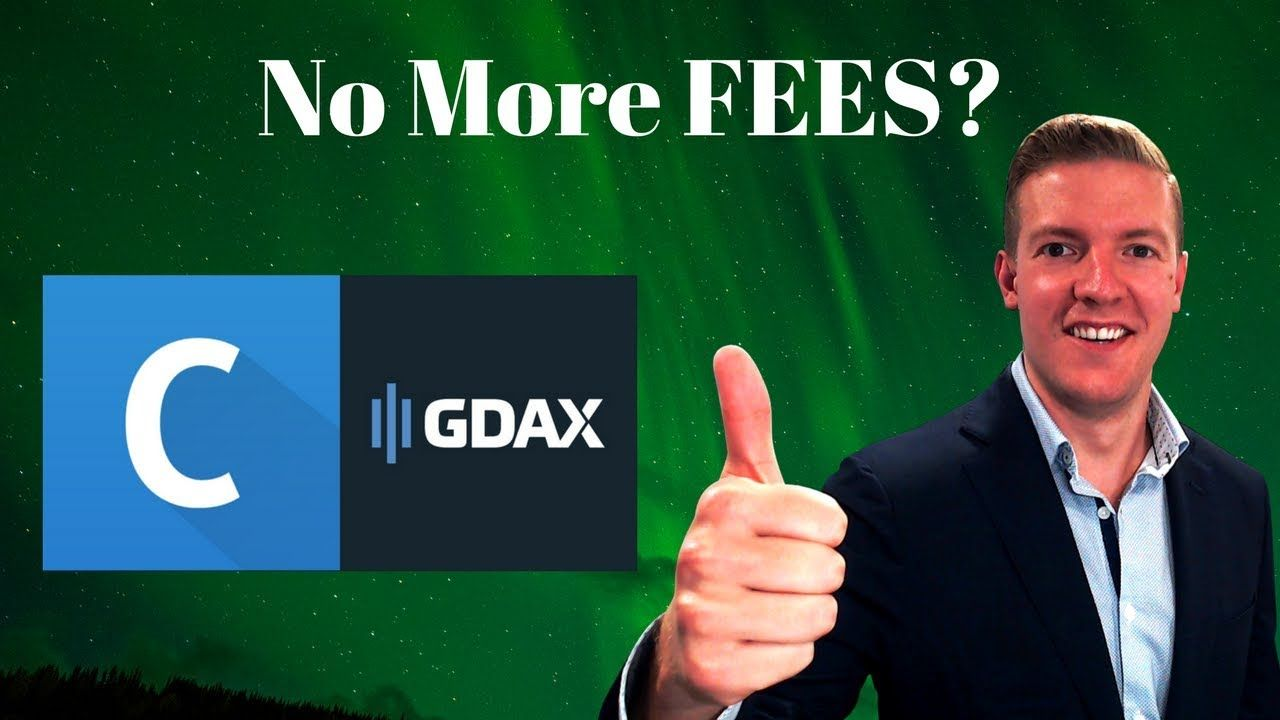 How To Put Money In Gdax