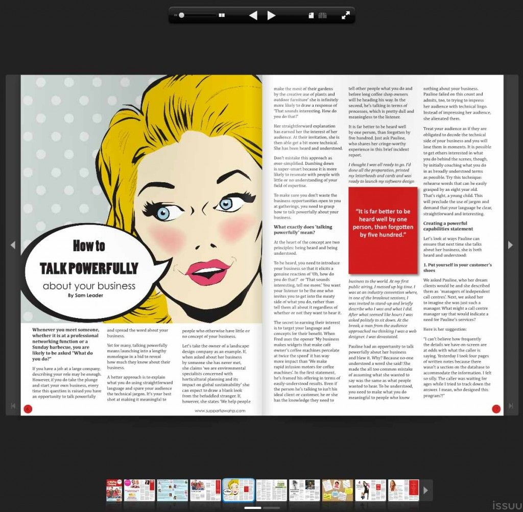 How to create an emagazine or catalogue flipbook using Issuu ...