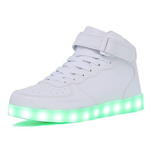 062266e776c CIOR High Top Led Light Up Shoes 11 Colors Flashing Rechargeable ...