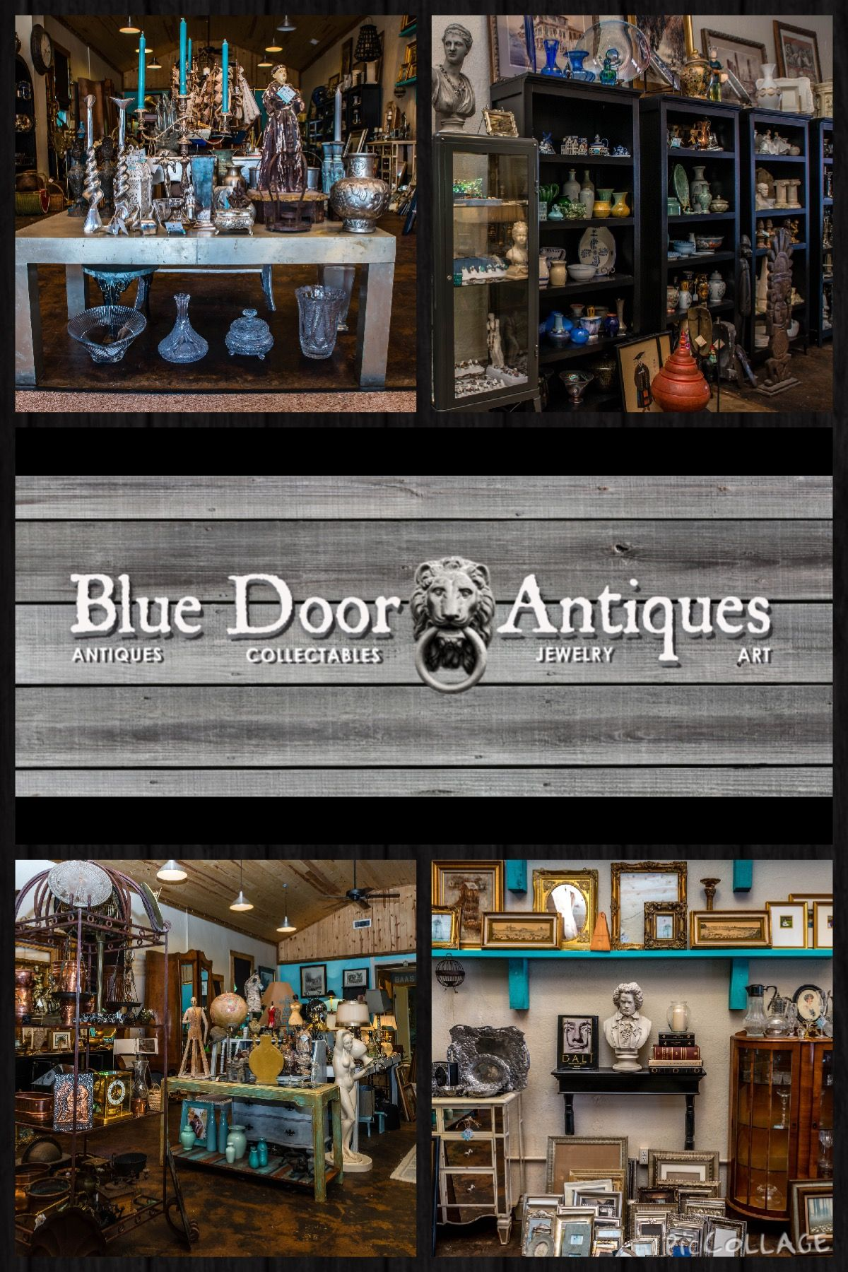 Today our spotlight is on Blue Door Antiques located at 521 Walnut. They  have everything that you never knew you were looking for... From antiques,  jewelry ... - Today Our Spotlight Is On Blue Door Antiques Located At 521 Walnut